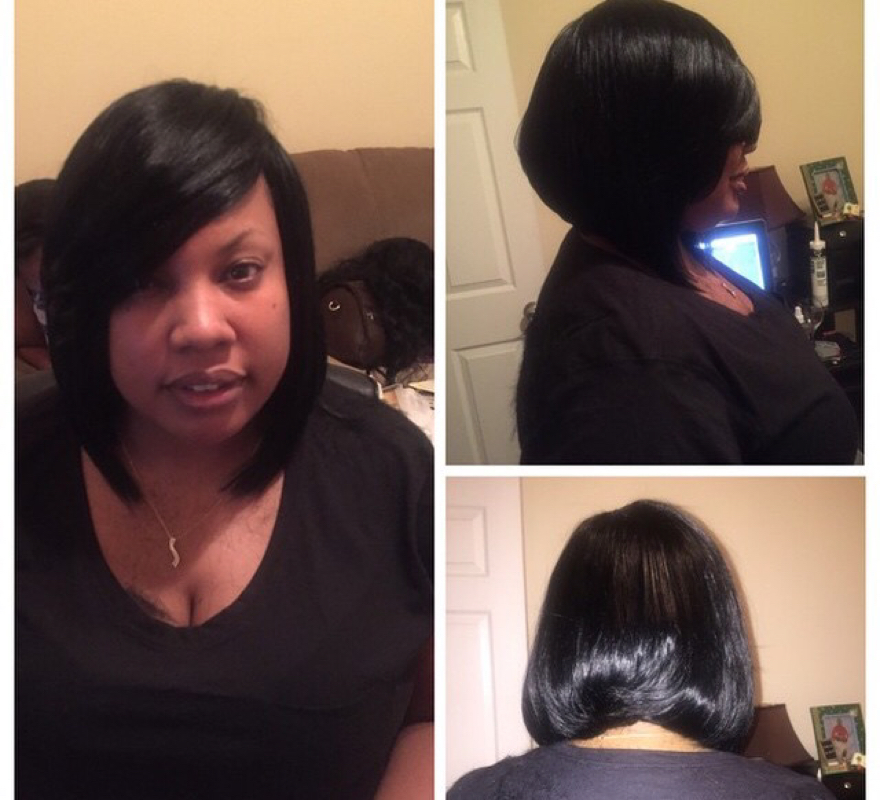 No Leave Out No Closure Full Sew In